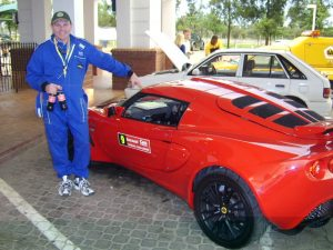 Owner and Founder of Trix-Racing Accessories Shawn Viljoen